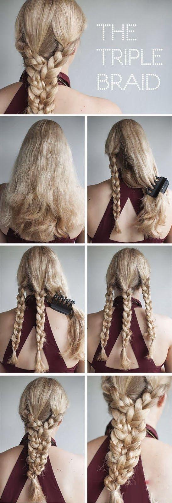 Зачіски з косами покроково