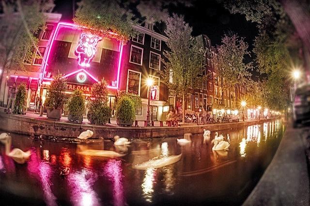 Лучшие секс-шоу мира: Live-sex show Amsterdam