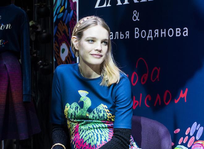 Наталя Водянова презентувала нову колекцію одягу