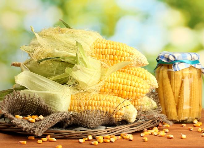 Кукуруза на зиму для салатов