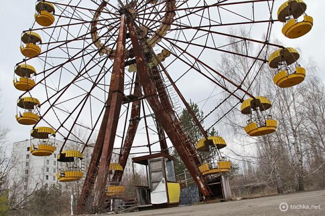 Найбрудніші міста світу. Чорнобиль. Україна