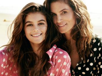 Синди Кроуфорд и Кайя Гербер для Vogue Paris