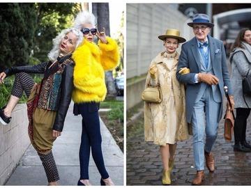Модні люди похилого віку