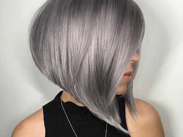 "Цвет волос ""металлик"""