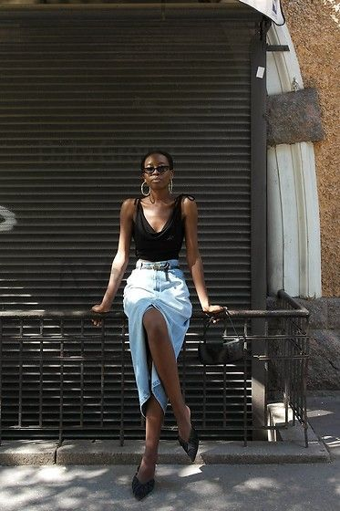 Джинсовые юбки — тренд весна-лето