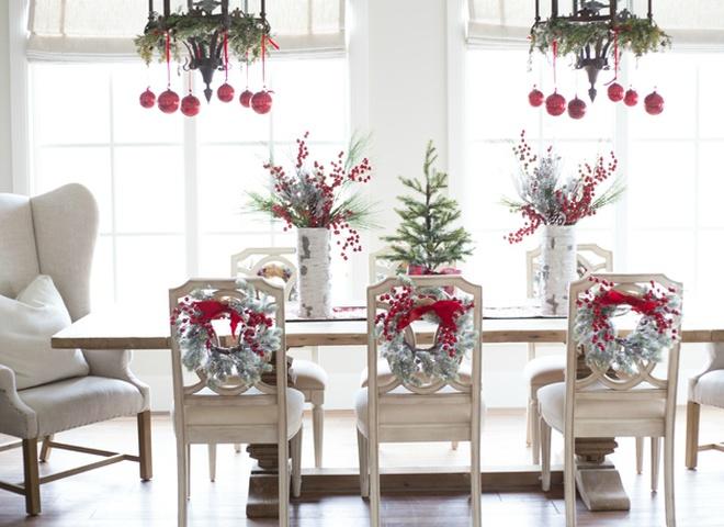 Новогодний декор в доме модного блоггера