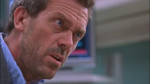 У доктора Хауса есть маленький нос над большим носом