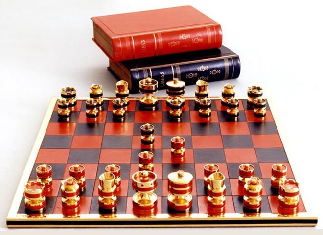 Драгоценные шахматы от Джеффри Паркера