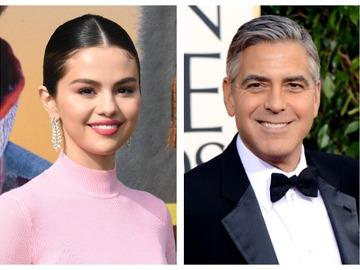 Селена Гомес и Джордж Клуни