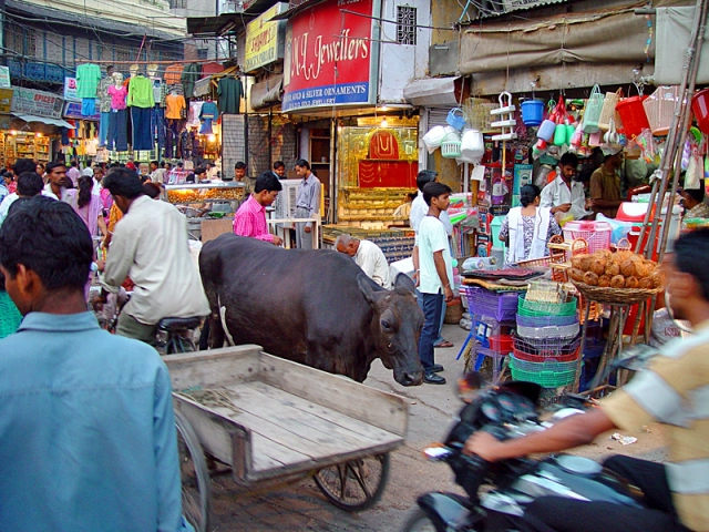 Индийские базары: Мэйн Базар, Дели
