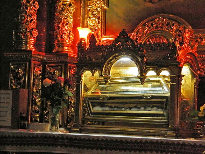 День Святого Валентина: Самбор (Храм Рождества Богородицы и мощи Святого Валентина)