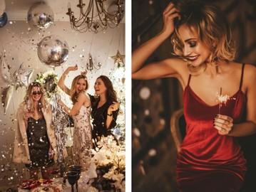 Модные идеи макияжа и прически на Новый год 2021