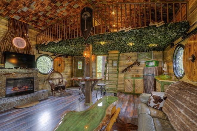Необычный отель «Дом Хоббита»: окунись в романтику мифического Средиземья