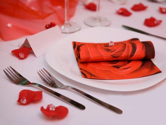 романтический ужин к 8 Марта