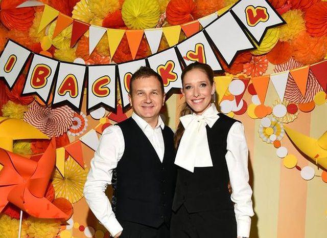 Катя Осадчая и Юрий Горбунов с сыном