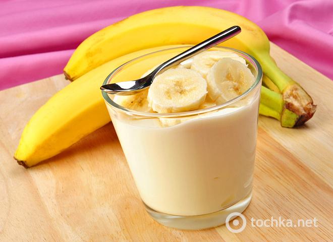 Банановый йогурт: вкусный завтрак для всей семьи