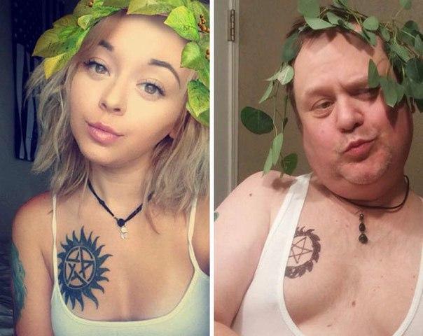 Папа троллит дочь