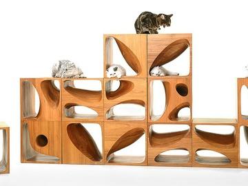 Кубы для игривых котов