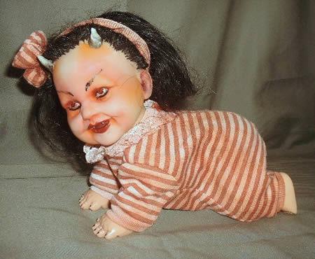 Куклы от которых мурашки по коже