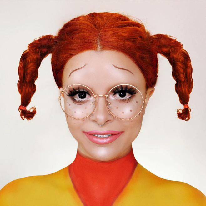 """Образ на Хэллоуин 2020 — """"Дикая семейка Торнберри"""""""