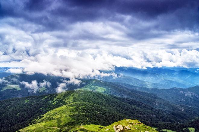 Путешествуем Украиной: потрясающий Черногорский хребет в Карпатах