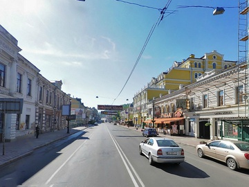 У Києві вул. Сагайдачного буде пішохідною