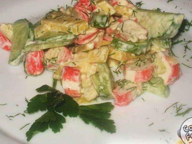 Салат морской бриз с фото
