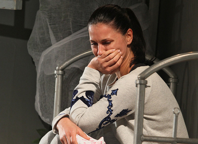 Маша Ефросинина расплакалась на сцене