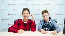 Андрій Бойко і Владислав Феничко (команда MONATKa) в гостях у tochka.net