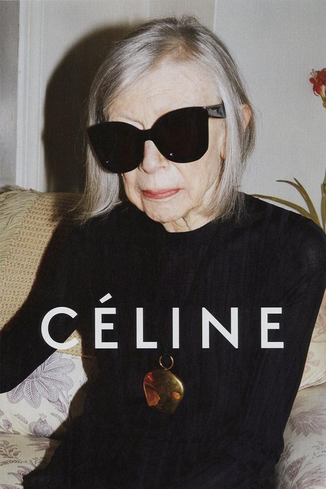 Модели в возрасте: Джоан Дидион