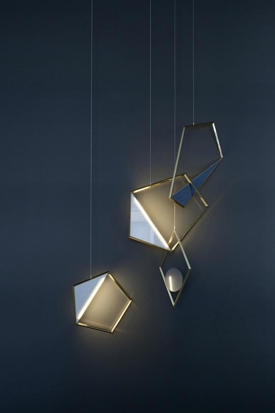 светильники-кулоны