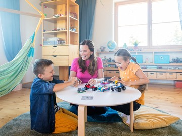 Конструктор LEGO: навчання через гру