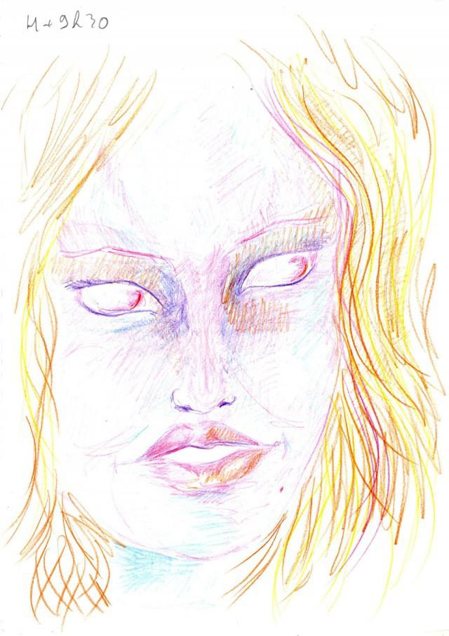 Рисунки, сделанные под действием ЛСД