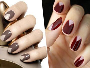 Бьюти тренд 2016: треугольники на ногтях