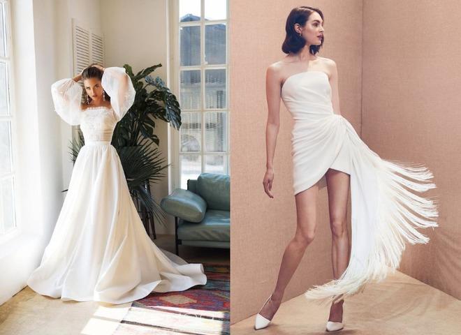 Тренди весільних суконь 2020