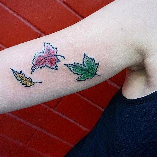 Осенние татуировки