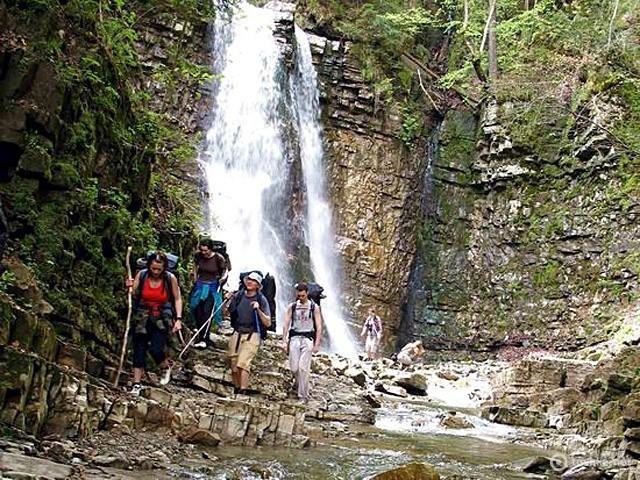 Манявський водопад