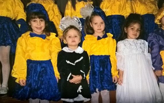 """Участницы """"Супермодель по-украински 3"""" в детстве"""