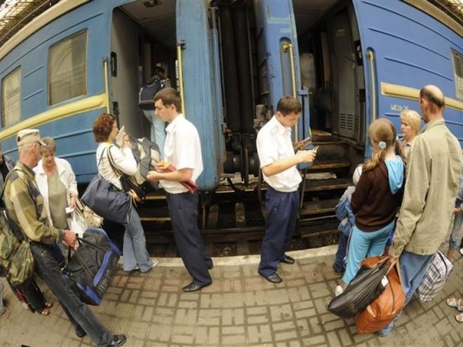 палки в поезде фото