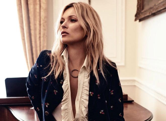 Кейт Мосс для Vogue UK