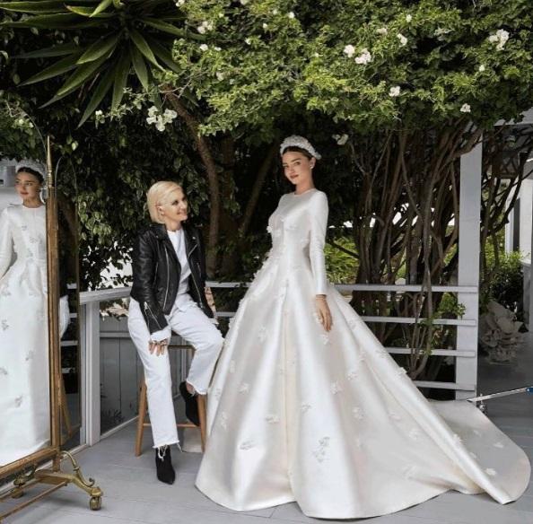Миранда Керр свадебное платье