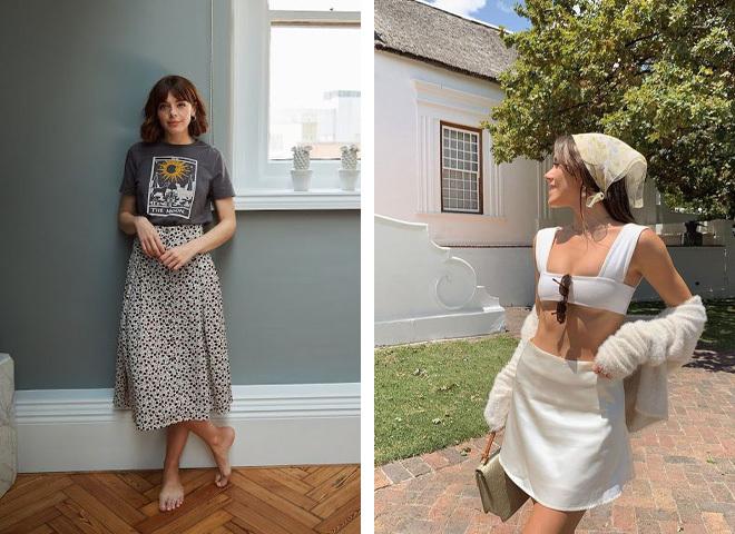 Модные наряды во французском стиле