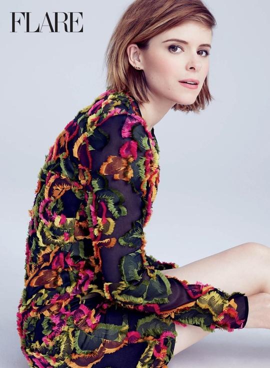 Кейт Мара на страницах Flare Magazine