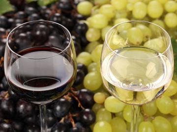 Домашнє вино, виноград червоний, виноград білий, брід