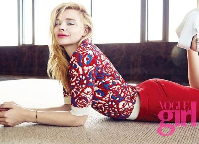 Хлоя Морец в Vogue Teen Korea