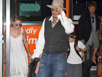 Джонни Депп в Токио