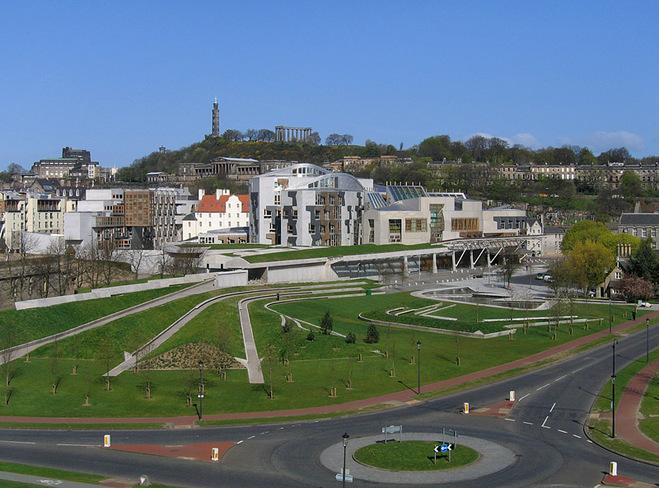 Где туристу почувствовать себя депутатом: Парламент Шотландии