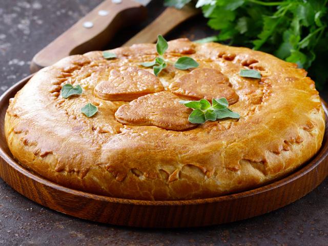 рецепт закрытый пирог
