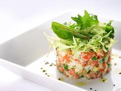 салаты с рыбой