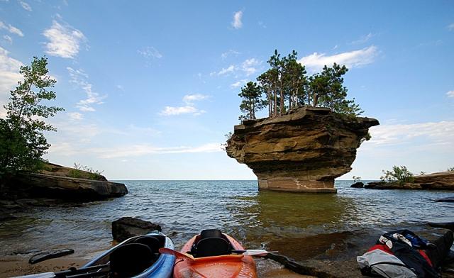 Незвичайні скелі: скеля-Ріпа